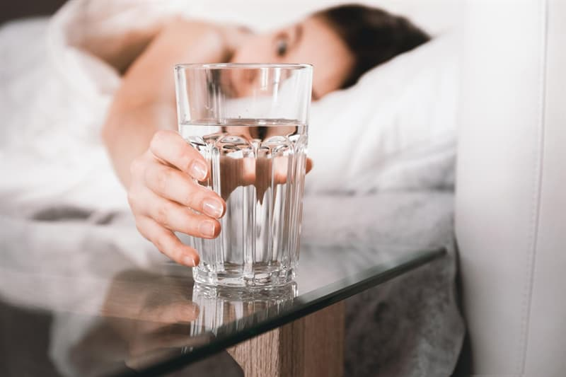 Science Story: Drinking a glass of water
