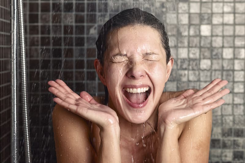 Science Story: Taking a warm shower for headache relief