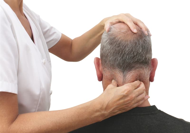 Science Story: massage point Gates of Consciousness for headache relief