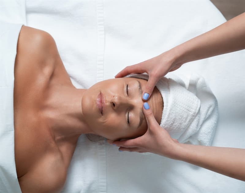 Science Story: massage point Third Eye for headache relief