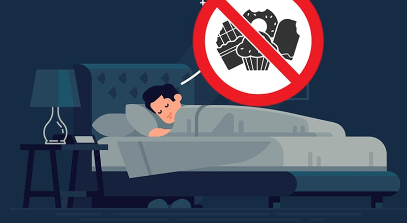 Science Story: #2 If you want to give up sweets, you need to get more sleep