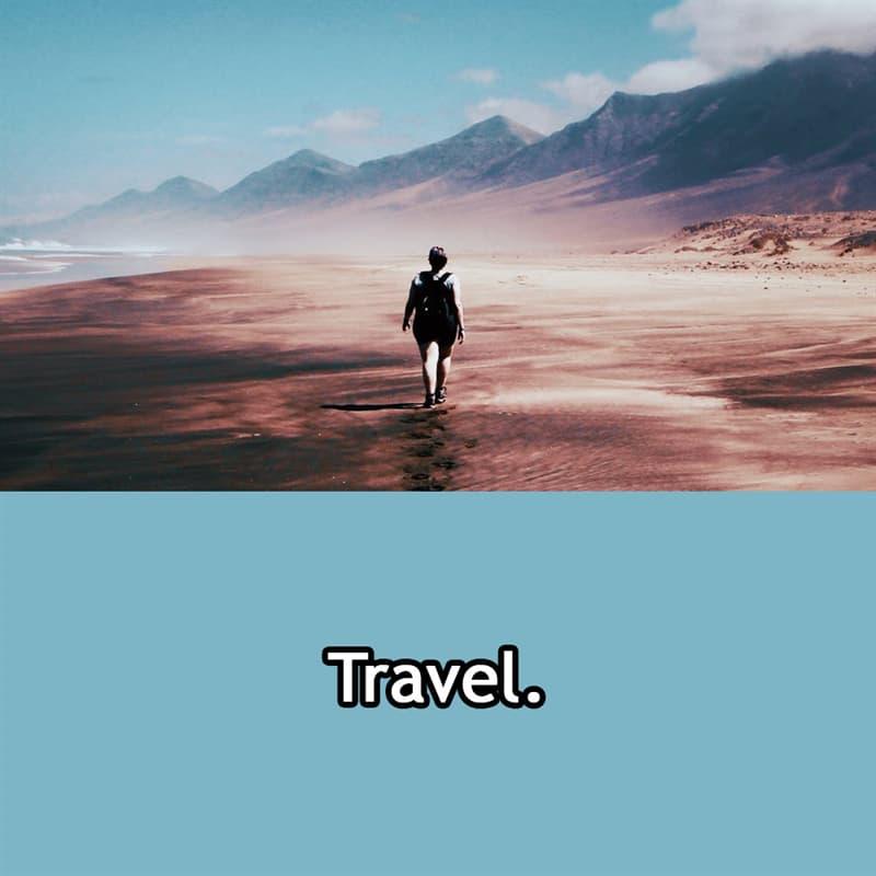 Society Story: Travel.