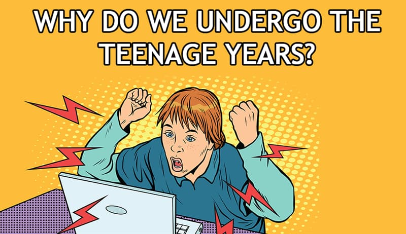 Science Story: Why do we undergo the teenage years?