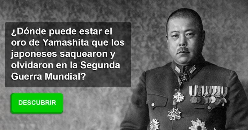Historia Historia: ¿Dónde puede estar el oro de Yamashita que los japoneses saquearon y olvidaron en la Segunda Guerra Mundial?