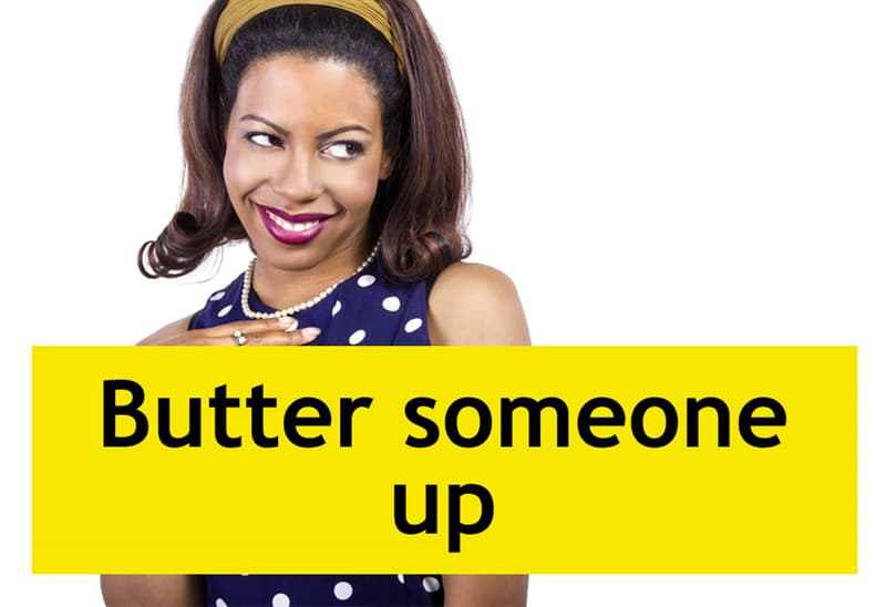 Culture Story: Butter someone up