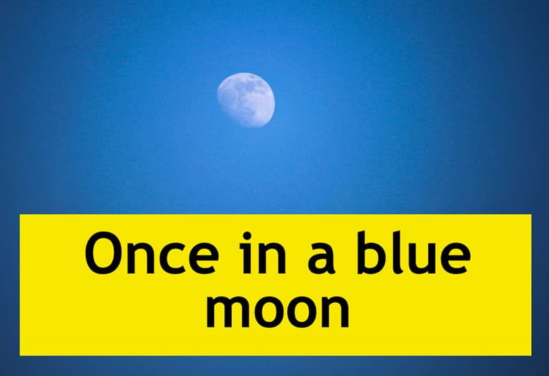 Culture Story: Once in a blue moon