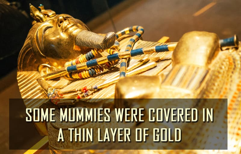Science Story: Some mummies were covered in a thin layer of gold