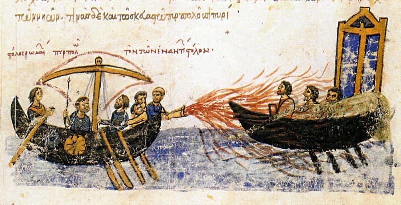 Science Story: #3 Greek Fire