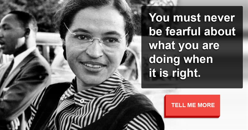 Society Story: These 10 meaningful quotes by Rosa Parks will make you think about life