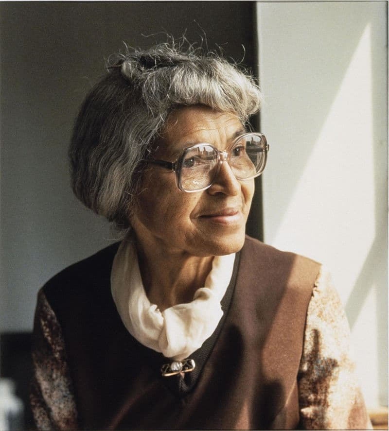 """Society Story: Rosa Louise McCauley Parks, """"the first lady of civil rights"""" and """"the mother of the freedom movement"""", February 4, 1913 – October 24, 2005"""