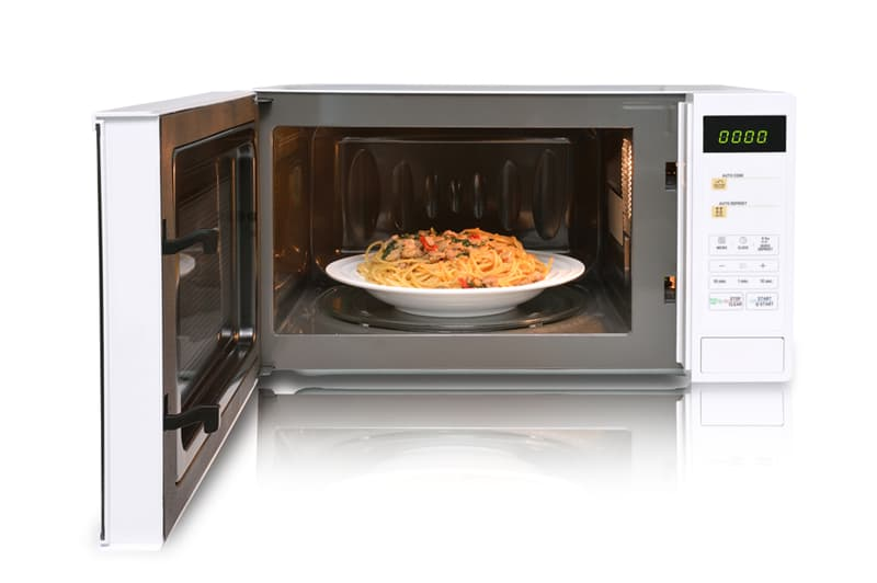 Society Story: #1 Reheating food in the microwave