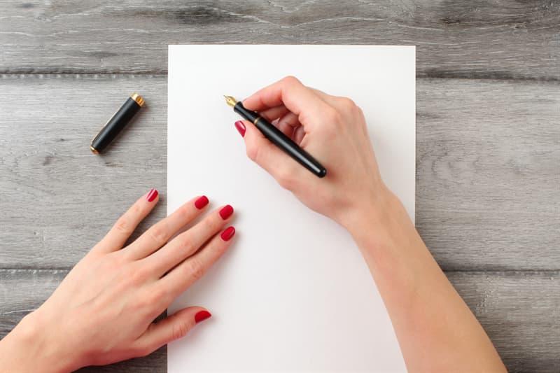 Society Story: #4 Holding a pen
