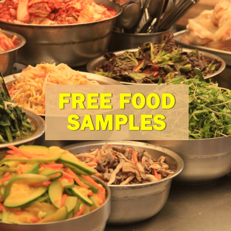 Geography Story: Free food samples
