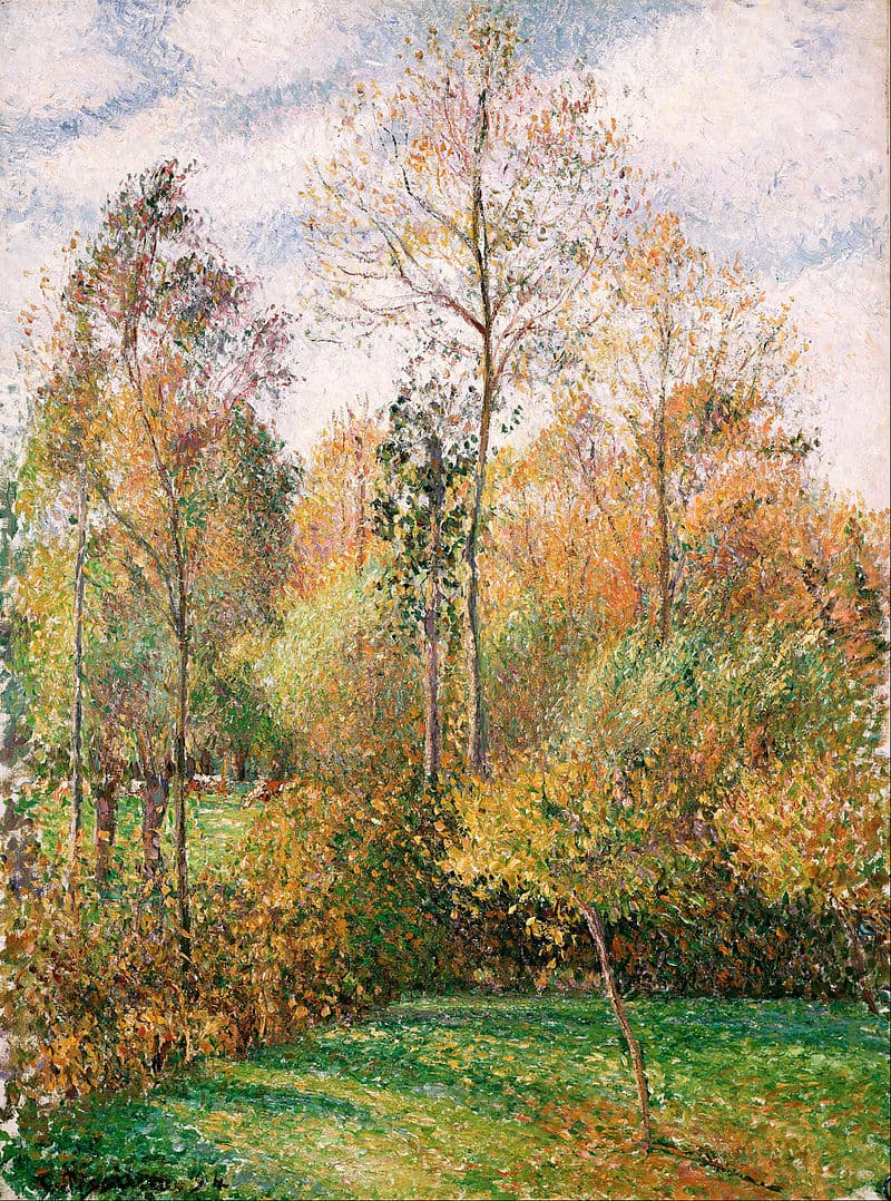 art Story: A painting by Camille Pissarro, a Danish-French Impressionist and Neo-Impressionist painter: