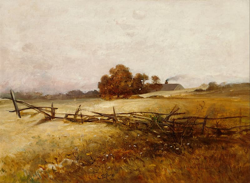 art Story: Countryside landscape by Charles Ethan Porter: