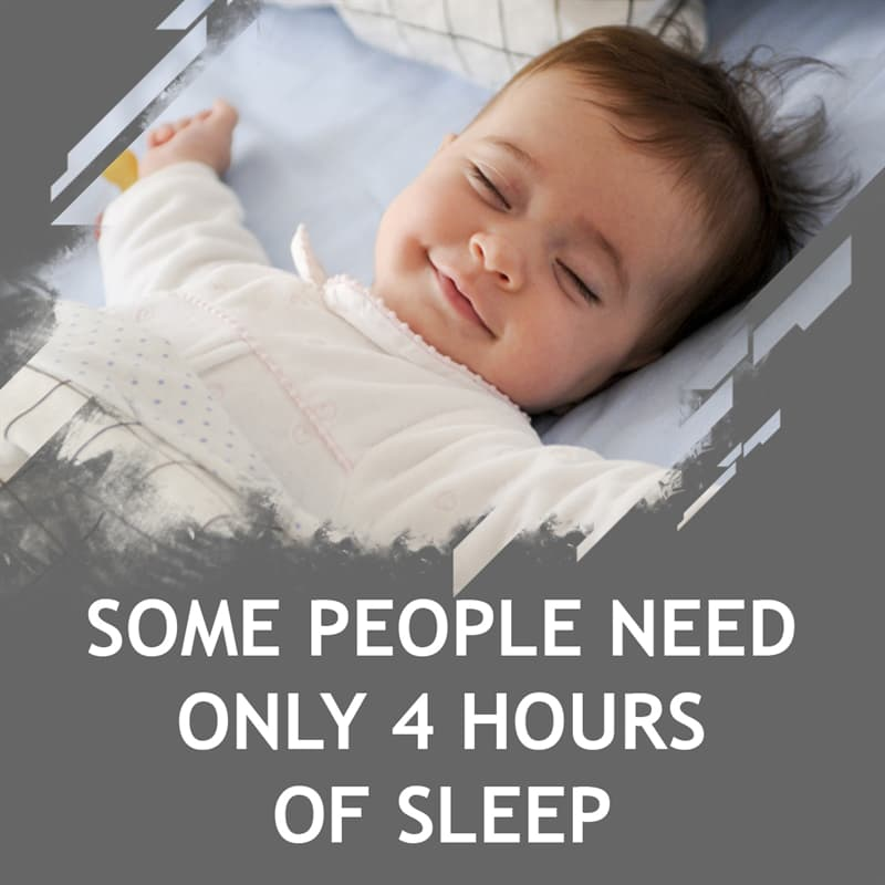 Science Story: Some people need only 4 hours of sleep