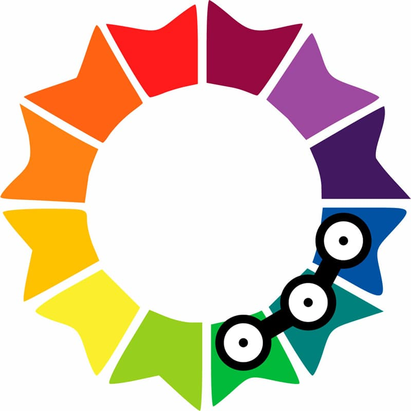 color Story: analogous colors on the color wheel