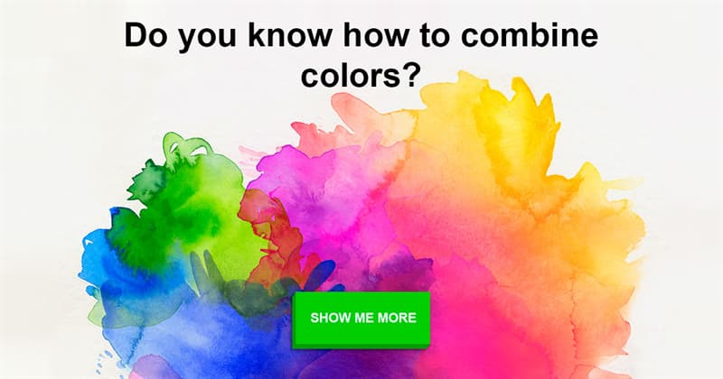 color Story: How to Combine Colors with a Color Wheel. Cheat Sheet