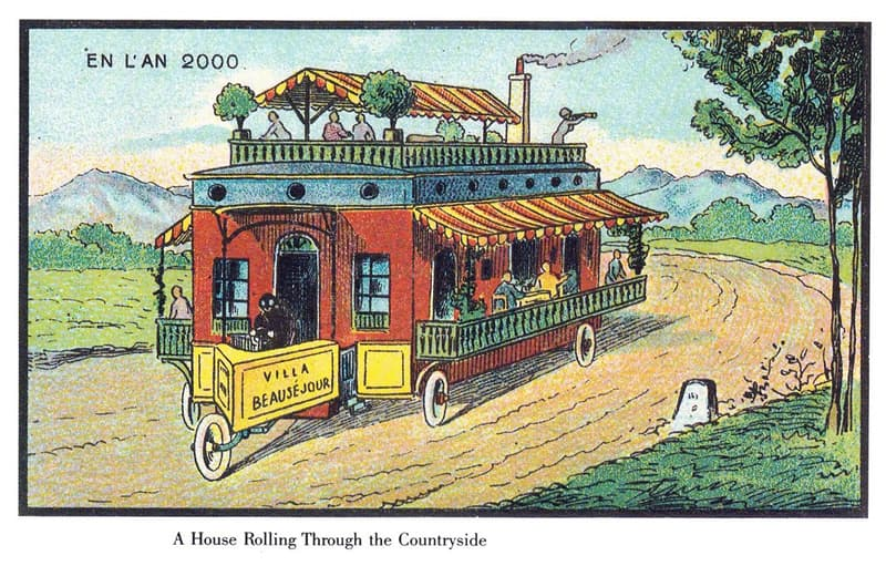 History Story: A prototype of a travel trailer:
