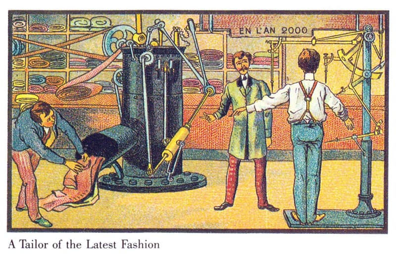 History Story: A robot tailor: