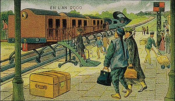 History Story: An electric train to Beijing: