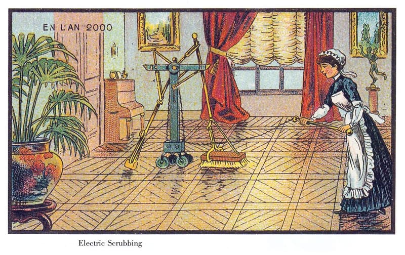 History Story: Electric scrubbing: