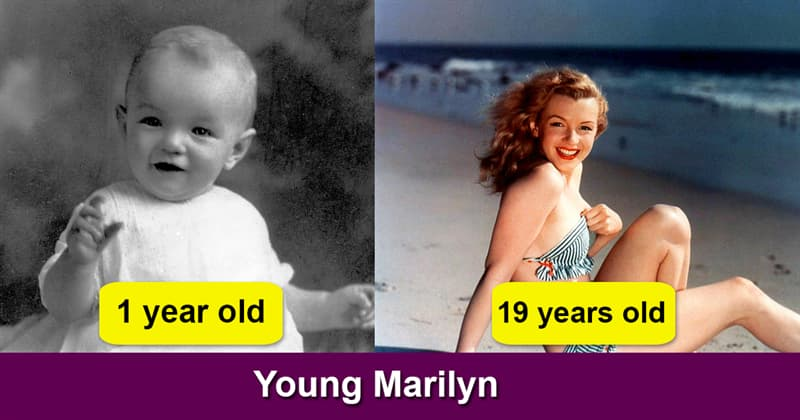 Society Story: Rarest photos of young and innocent Marilyn Monroe