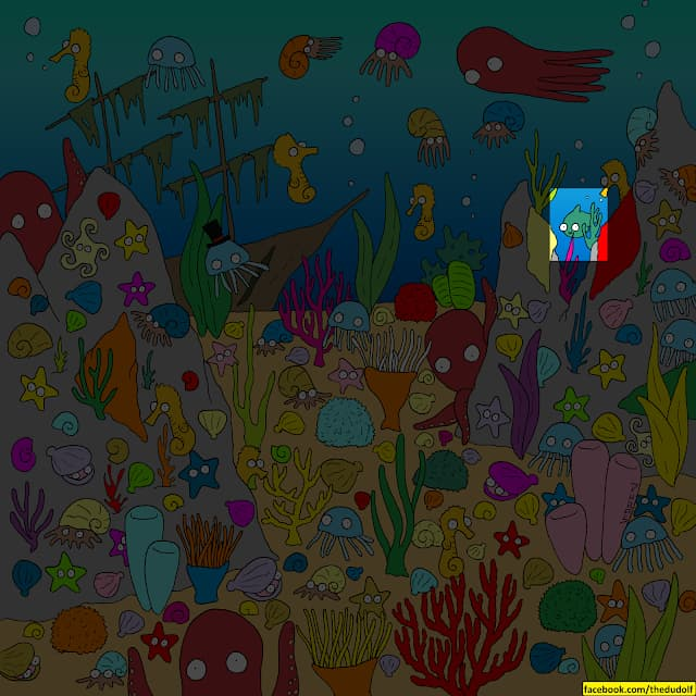 IQ Story: Find hidden objects in these 10 colorful pictures to stretch your brain #8