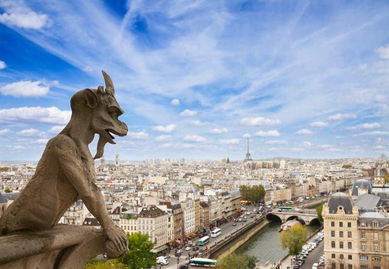 Geography Story: Interesting Facts about Notre Dame Cathedral You Probably Didn't Know #7