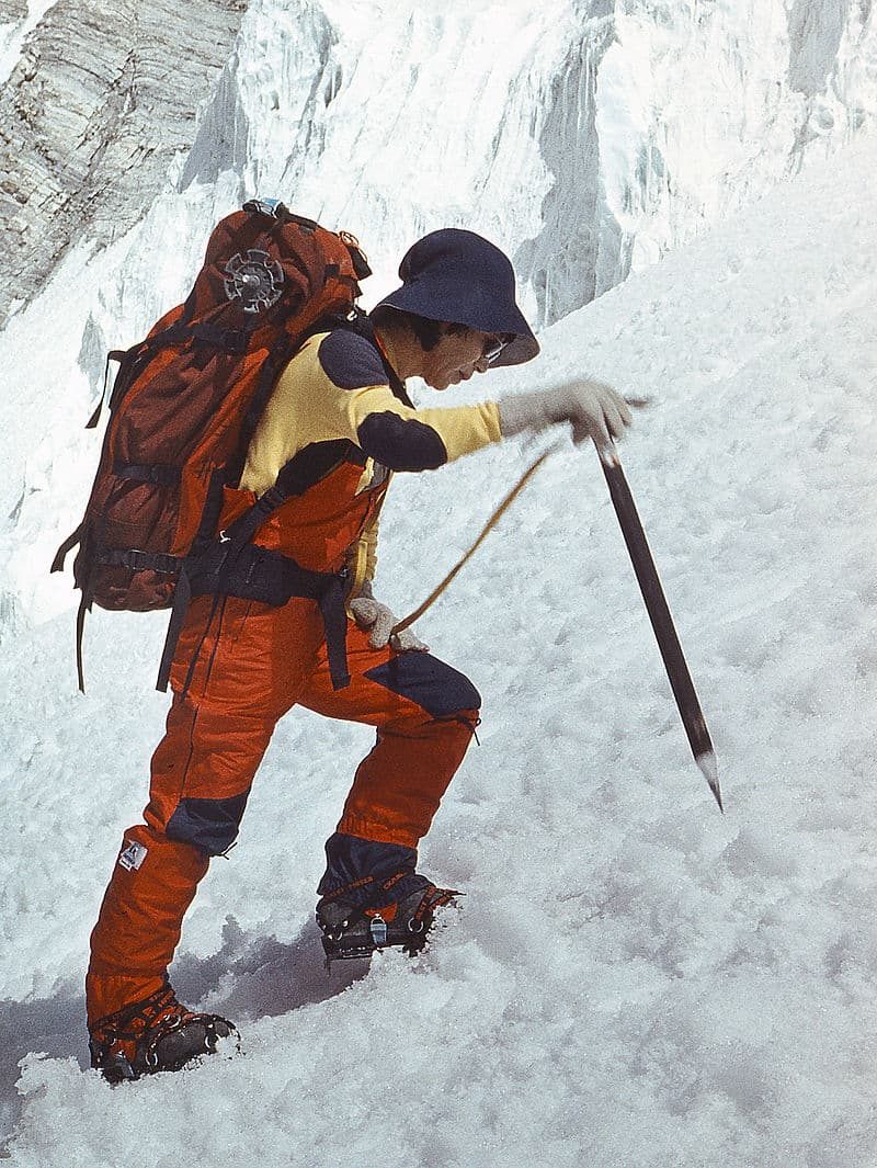 Society Story: #10 Junko Tabei, the first woman to climb Mount Everest