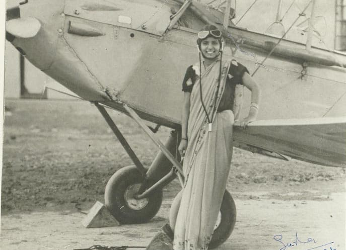 Society Story: #2 Sarla Thakral - the first woman from India who got a pilot's license (1936)