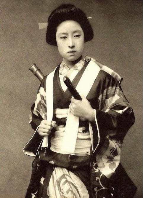 Society Story: #5 The first woman samurai (late 1800s)