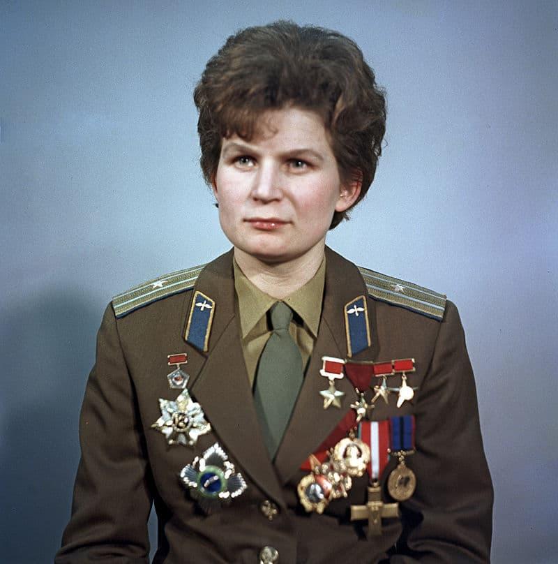 Society Story: #6 Valentina Tereshkova - the first woman in space (1963)