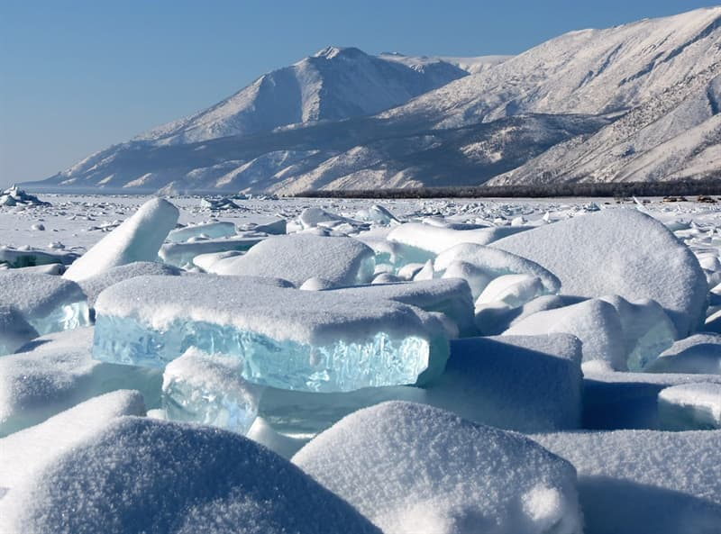 Nature Story: #1 Lake Baikal in winter