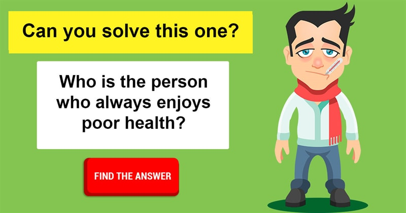 IQ Story: 10 funny riddles only the wittiest people can solve
