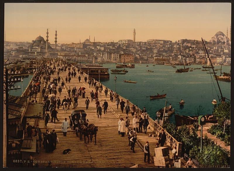 Geography Story: #3 Constantinople, Turkey, circa 1895