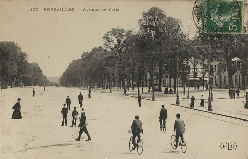 Geography Story: #7 Versailles Avenue, Paris, 1900s