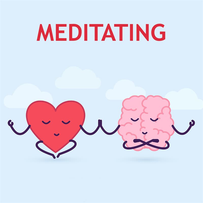 Science Story: Meditating