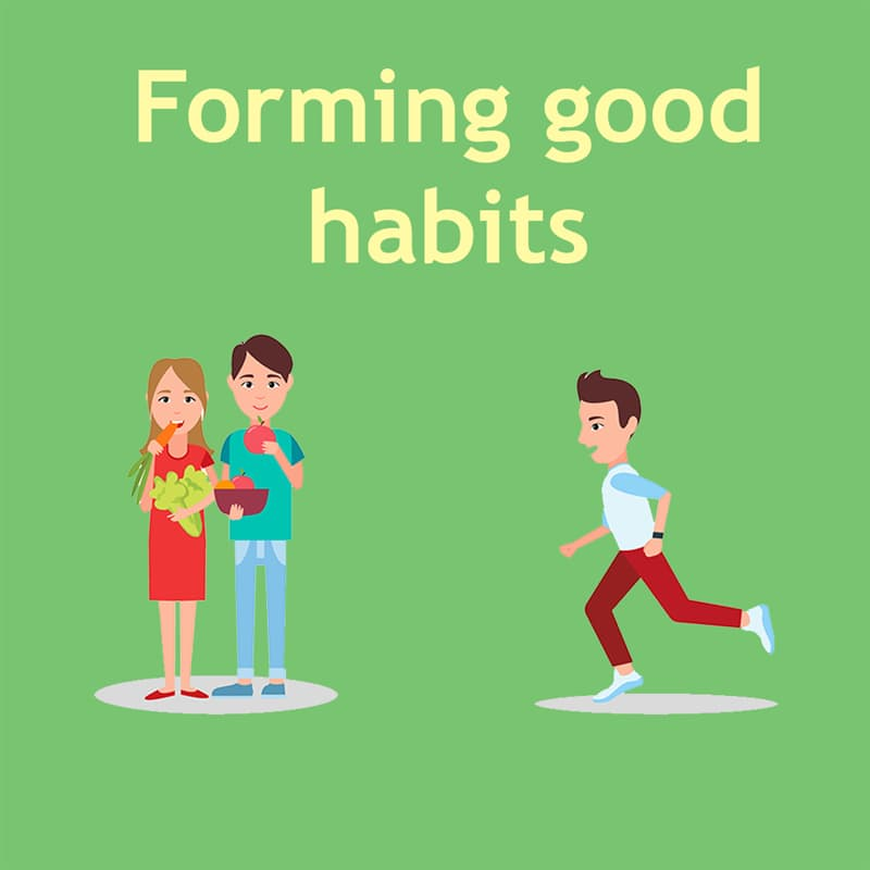 Science Story: Forming good habits