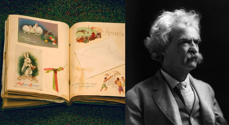 Science Story: #2 Mark Twain's scrapbooking