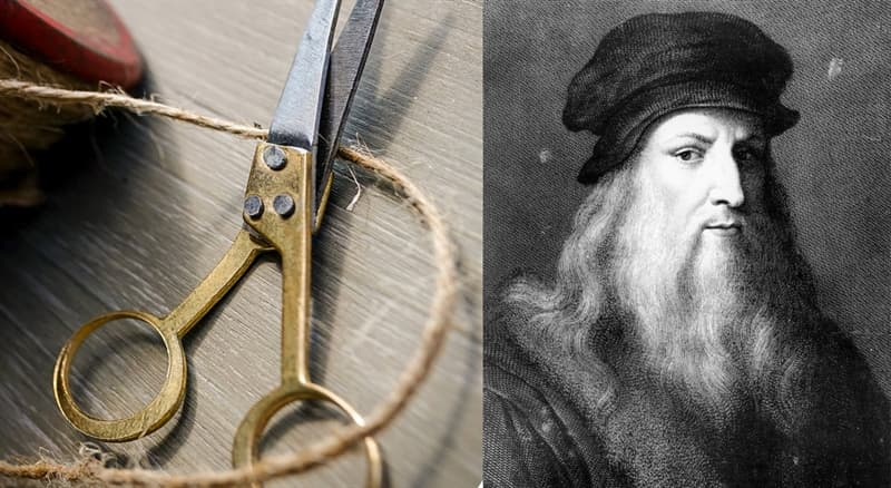 Science Story: #4 Leonardo da Vinci's scissors