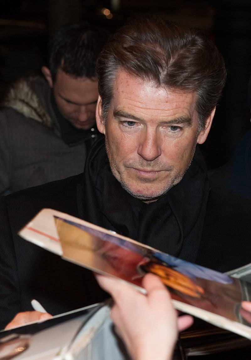 Movies & TV Story: #5: After having signed the contract to play Bond, Pierce Brosnan didn't have a right to appear in a tuxedo in any movie not connected with the Bond series.