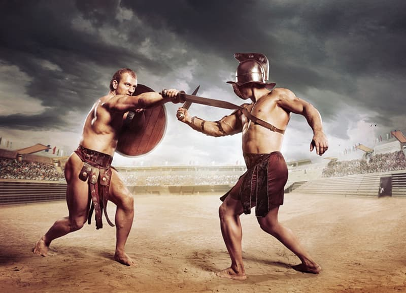 History Story: #5 Gladiators fought to the death