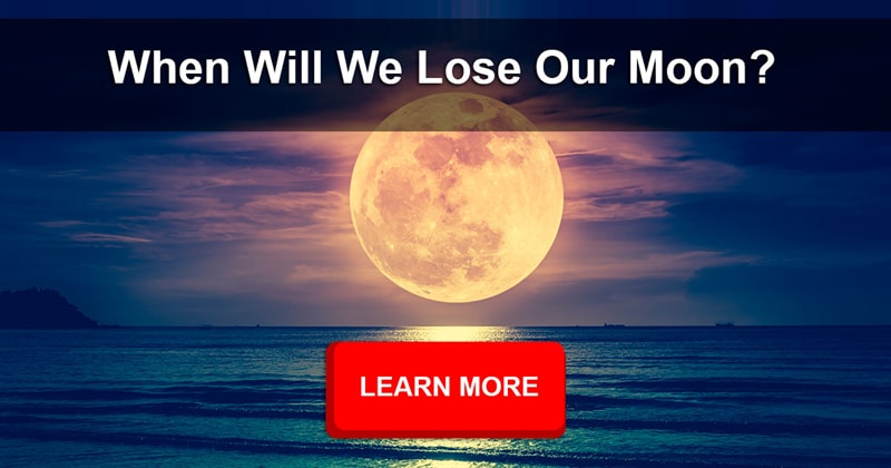 Science Story: If the Moon is gradually moving farther away from us, will it eventually go away?