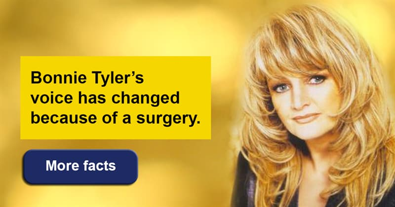 Society Story: Looking back in time - Bonnie Tyler and her inspiring songs