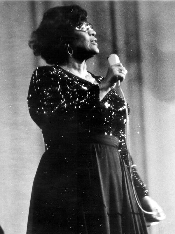 Society Story: 6. Ella had a manager who felt very strongly about civil rights and refused to accept any type of discrimination. Not only her manager, numerous celebrities supported Ella Jane Fitzgerald.