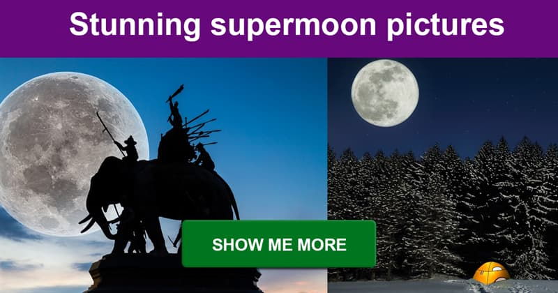 photography Story: The incredible supermoon phenomenon in stunning pictures