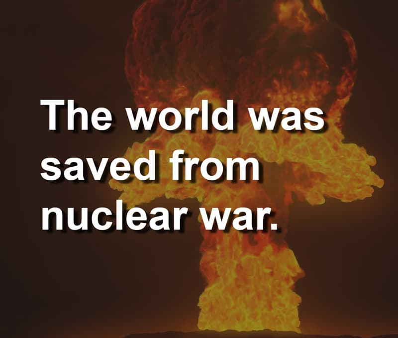 History Story: Only true history-lovers know this story about the man who saved the world