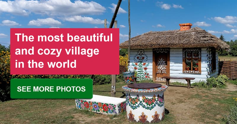Geography Story: The unique painted village in Poland: a must-see for true art lovers!