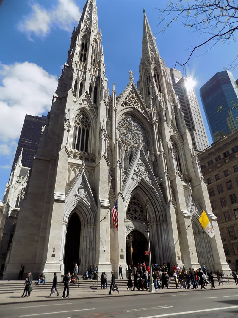 Geography Story: #13 St. Patrick's Cathedral, New York City